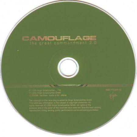 215fce26b242d0 Camouflage   Diskografie   Singles   The Great Commandment 2.0